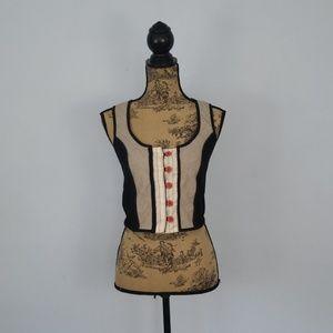 Anthropologie Cartonnier Vest